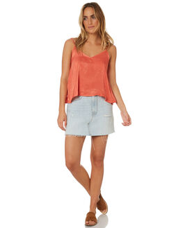 RUST WOMENS CLOTHING ALL ABOUT EVE FASHION TOPS - 6423058BRNZ