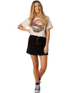 BLACK WOMENS CLOTHING THE HIDDEN WAY SKIRTS - H8184474BLACK