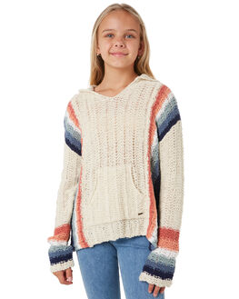BEIGE KIDS GIRLS RIP CURL JUMPERS + JACKETS - JSWAO10001