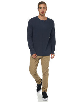 BLUE NIGHTS HEATHER MENS CLOTHING QUIKSILVER KNITS + CARDIGANS - EQYSW03208BSTH