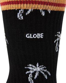 YELLOW STRIPE MENS CLOTHING GLOBE SOCKS + UNDERWEAR - GB71639002YELS