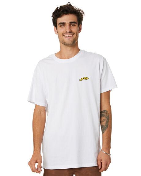 WHITE MENS CLOTHING RUSTY TEES - TTM2479WHT