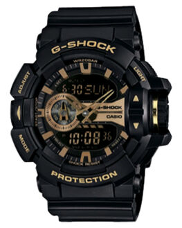 BLACK GOLD MENS ACCESSORIES G SHOCK WATCHES - GA400GB-1A9BLKGD