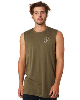MILITARY MENS CLOTHING VOLCOM SINGLETS - A4501916MIL