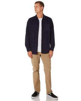 WASHED NAVY MENS CLOTHING O'NEILL SHIRTS - 521120142K