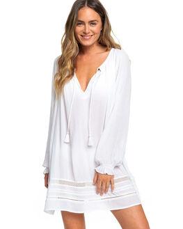 BRIGHT WHITE WOMENS SWIMWEAR ROXY OVERSWIM - ERJX603158-WBB0