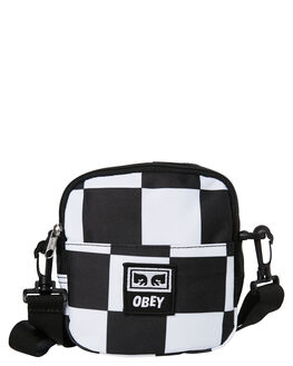 CHECKER MENS ACCESSORIES OBEY BAGS + BACKPACKS - 100010094CHK