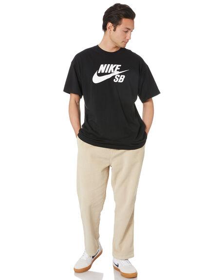 BLACK MENS CLOTHING NIKE TEES - CV7539010
