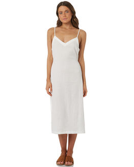 WHITE WOMENS CLOTHING RHYTHM DRESSES - OCT18W-DR01WHT