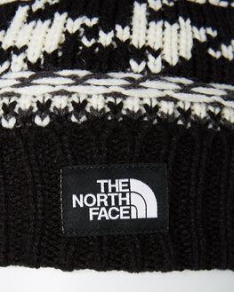 BLACK WHITE MULTI WOMENS ACCESSORIES THE NORTH FACE HEADWEAR - NF0A3FGJ7VYBKWHT