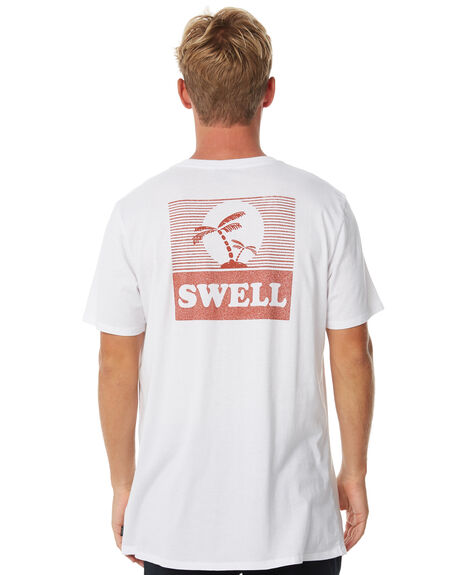 WHITE MENS CLOTHING SWELL TEES - S5184010WHITE