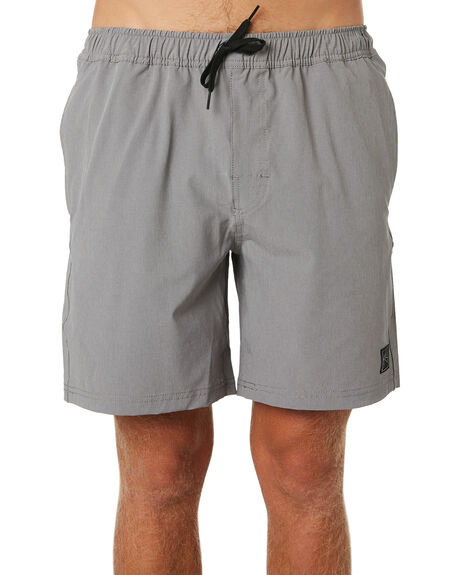STONE GREY MENS CLOTHING RUSTY BOARDSHORTS - BSM1149SOG