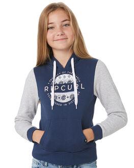 BLUE KIDS GIRLS RIP CURL JUMPERS + JACKETS - JFEBX10070