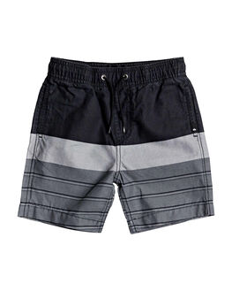BLACK GAWA BREAKER KIDS BOYS QUIKSILVER SHORTS - EQKWS03184-KVJ3