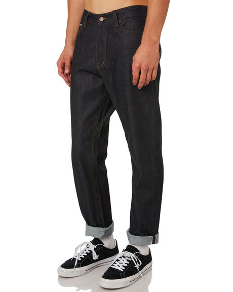 RAW SELVAGE MENS CLOTHING DR DENIM JEANS - 1830111-007