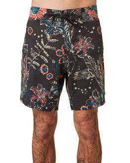 BLACK MENS CLOTHING RUSTY BOARDSHORTS - BSM1393BLK