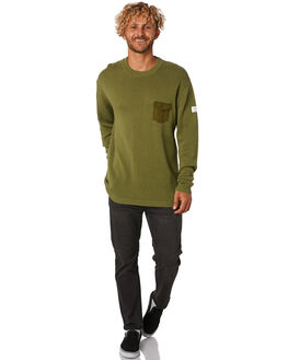 FATIGUE MENS CLOTHING THE CRITICAL SLIDE SOCIETY KNITS + CARDIGANS - KT1830FATIG