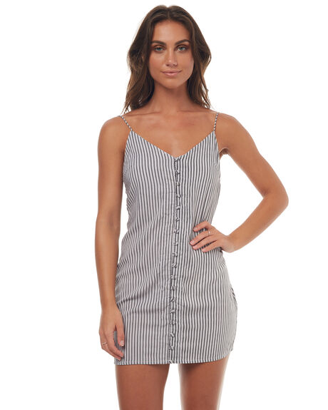 STRIPE WOMENS CLOTHING RUE STIIC DRESSES - SRC2STR