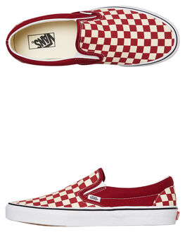 RUMBA RED MENS FOOTWEAR VANS SLIP ONS - VNA38F7VLWRRED