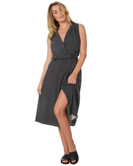 BLACK WOMENS CLOTHING THE HIDDEN WAY DRESSES - H8188444BLACK