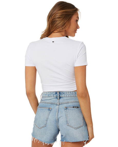 WHITE OUT WOMENS CLOTHING O'NEILL TEES - 4721107WHT