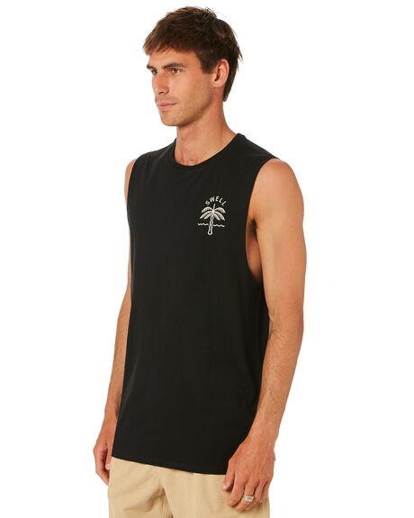BLACK MENS CLOTHING SWELL SINGLETS - S5212272BLACK