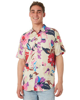 CLAY OUTLET MENS RVCA SHIRTS - R182186CLAY