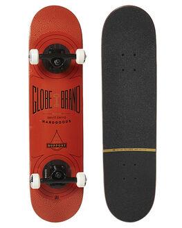 BURNT RED SKATE COMPLETES GLOBE  - 10525212BURNT