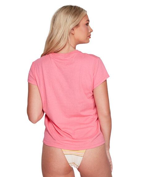 STRAWBERRY WOMENS CLOTHING BILLABONG TEES - BB-6592006-ST2