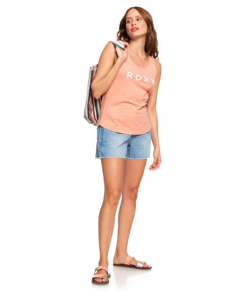 CANYON CLAY WOMENS CLOTHING ROXY SINGLETS - ERJZT04745-MJR0