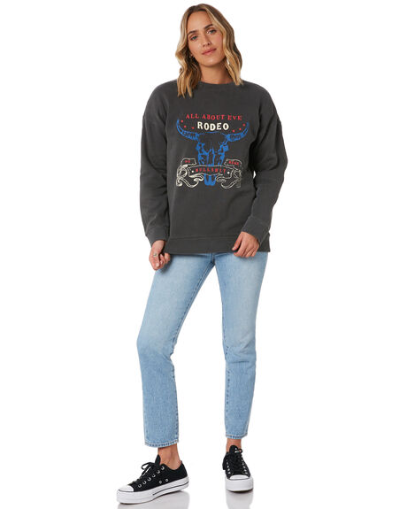 WASHED CHARCOAL WOMENS CLOTHING ALL ABOUT EVE JUMPERS - 6446199CHAR