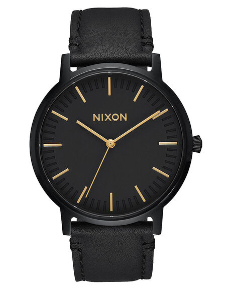 ALL BLACK GOLD MENS ACCESSORIES NIXON WATCHES - A10581031