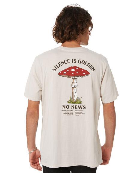 MOONBEAM MENS CLOTHING NO NEWS TEES - N5222003MNBM