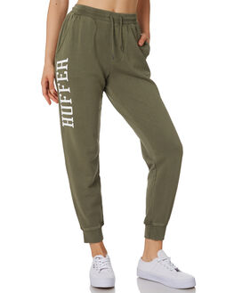 KHAKI WOMENS CLOTHING HUFFER PANTS - WPA91S71342KHK