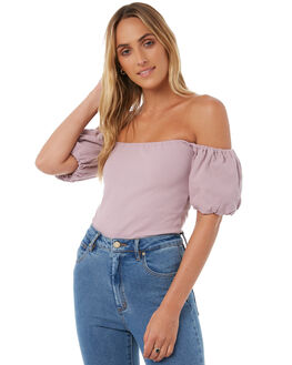 ORCHID OUTLET WOMENS THE HIDDEN WAY FASHION TOPS - H8174171ORCHID
