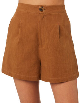 BRONZE WOMENS CLOTHING THRILLS SHORTS - WTR9-351CBRNZ