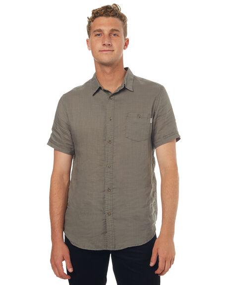 OLIVE MENS CLOTHING RHYTHM SHIRTS - OCT17M-WT03-OLI