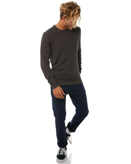 CHARCOAL MARLE MENS CLOTHING O'NEILL KNITS + CARDIGANS - 3711403CMRL