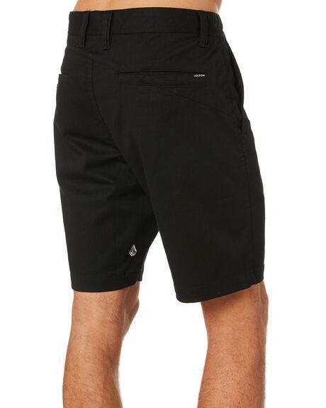 BLACK MENS CLOTHING VOLCOM SHORTS - A0931602BLK