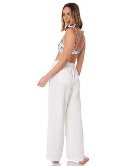 WHITE WOMENS CLOTHING SEAFOLLY PANTS - 53973-PAWHT