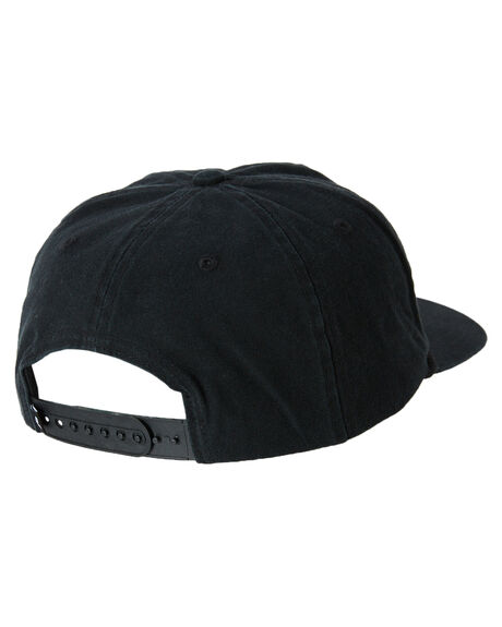 BLACK MENS ACCESSORIES RUSTY HEADWEAR - HCM0963BLK