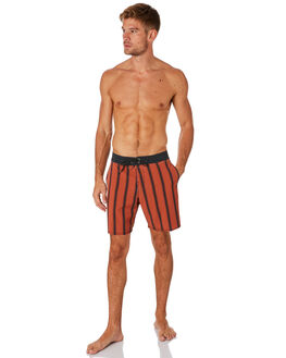 BURNT RED MENS CLOTHING BILLABONG BOARDSHORTS - 9595408BRED