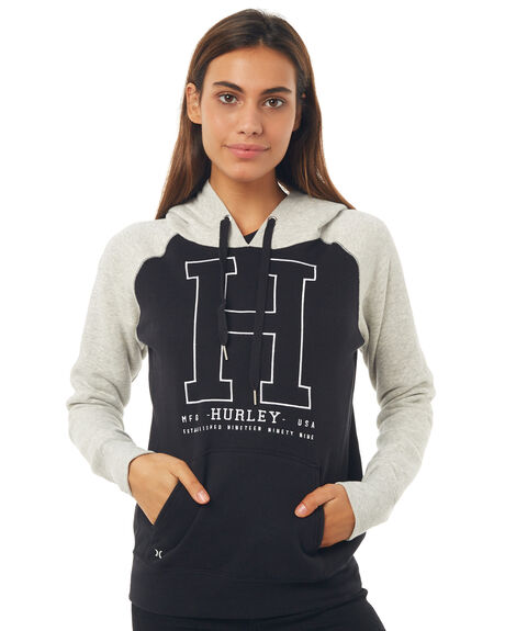 BLACK OUTLET WOMENS HURLEY JUMPERS - AGFLTH800A