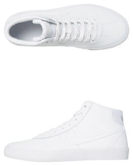 WHITE WOMENS FOOTWEAR NIKE SNEAKERS - 923112100