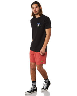 RED CLAY MENS CLOTHING DEUS EX MACHINA BOARDSHORTS - DMP82557RED