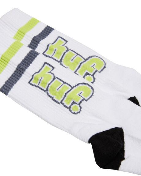 WHITE MENS CLOTHING HUF SOCKS + UNDERWEAR - SK00451-WHITE
