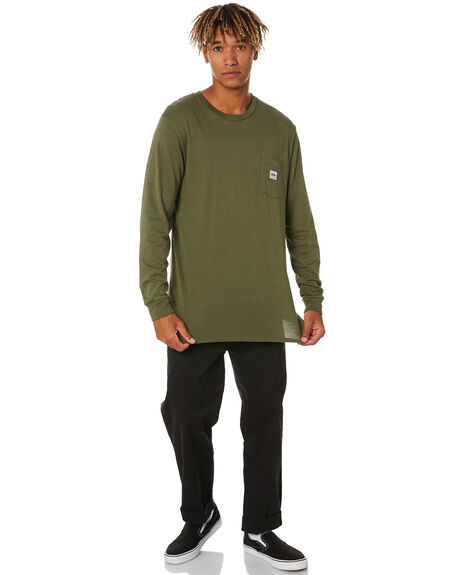 HEMP GREEN MENS CLOTHING DEPACTUS TEES - D5211100HMPGN