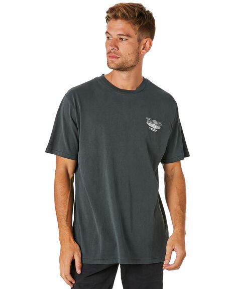MERCH BLACK MENS CLOTHING THRILLS TEES - TS8-118MBMCBLK