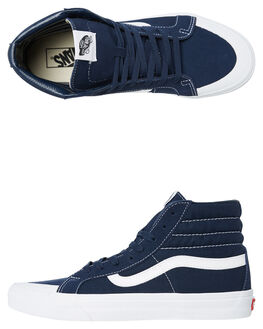 BLUE WOMENS FOOTWEAR VANS SNEAKERS - SSVNA3TKPT24W