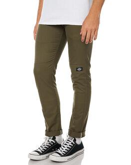 ARMY GREEN MENS CLOTHING DICKIES PANTS - WP811ARGRN